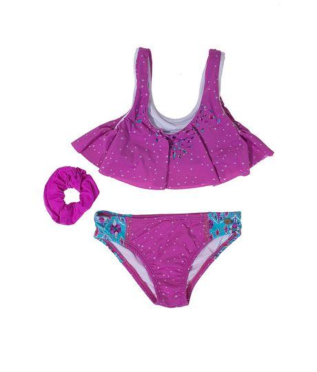 Vestido Entero Bikini Rosado 12