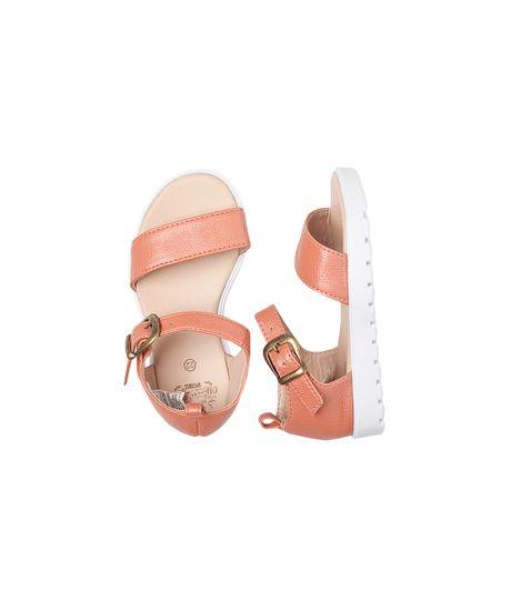 Calzado-Bebe-Niña-Naranja
