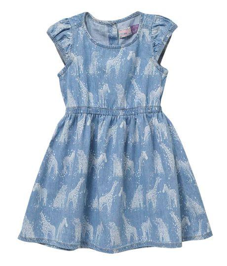 Vestidos-Bebe-Niña-Indigo-claro