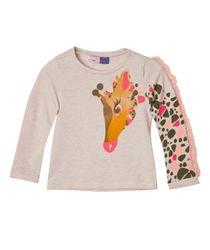 Camisetas-Bebe-Niña-Cafe