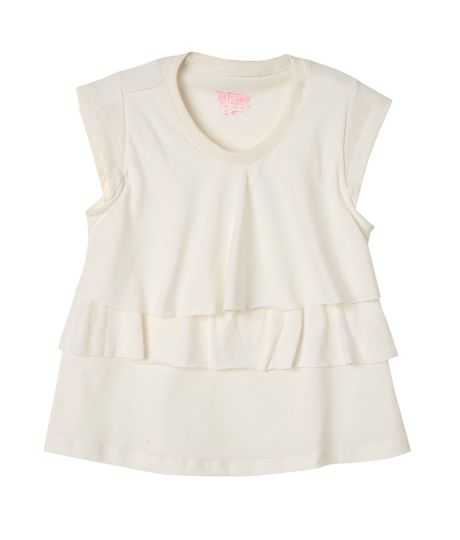 Camisetas-Bebe-Niña-Gris