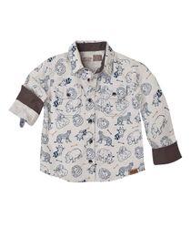 Ropa-Bebe-Niño-Camisas-Amarillo