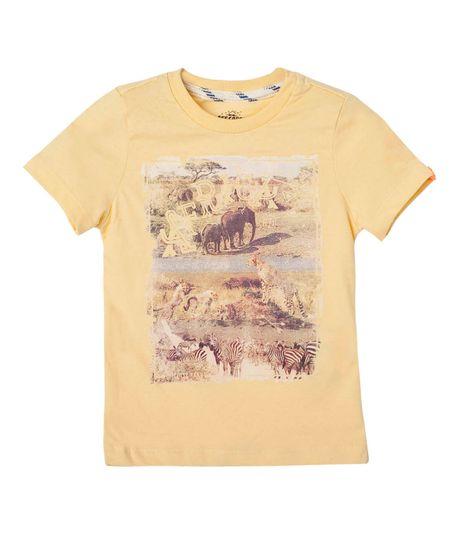 Ropa-Bebe-Niño-Camisetas-Amarillo