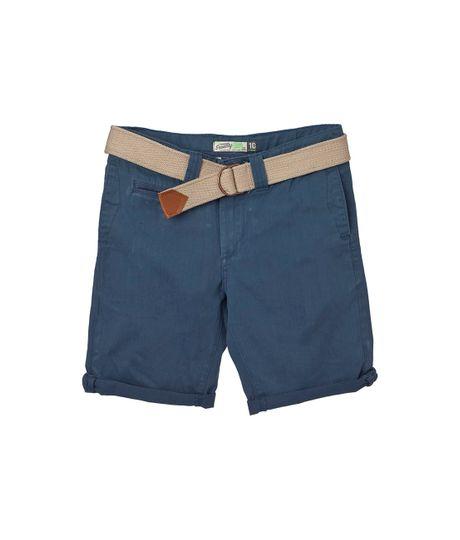 Ropa-Bebe-Niño-Bermudas-pantalonetas-Azul