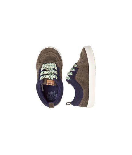 Ropa-Bebe-Niño-Zapatos-Verde