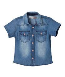 Camisas-Ropa-bebe-nino-Indigo-claro