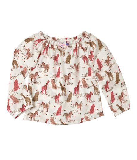 Camisas-Ropa-bebe-nina-Cafe