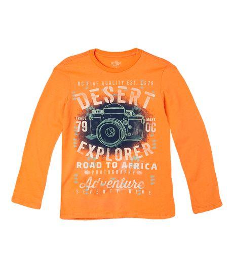 Camisetas-Ropa-nino-Naranja