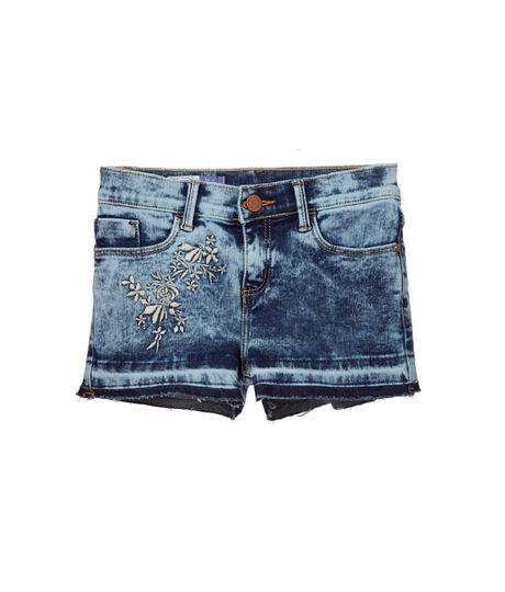 Faldas-y-shorts-Ropa-nina-Indigo-oscuro