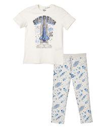 Pijamas-Ropa-nino-Gris