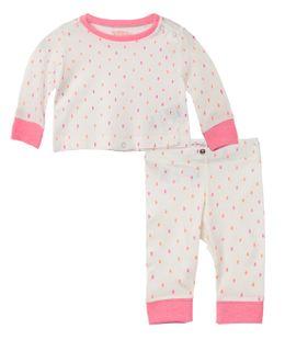Pijamas-Ropa-recien-nacido-nina-Amarillo