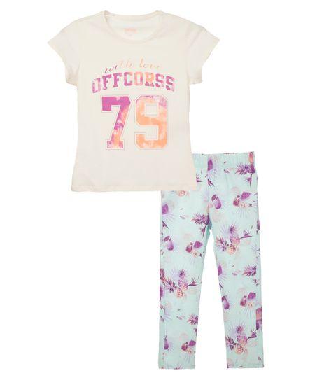 Pijamas-Ropa-nina-Amarillo