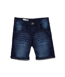 Bermudas-pantalonetas-Ropa-nino-Indigo-oscuro