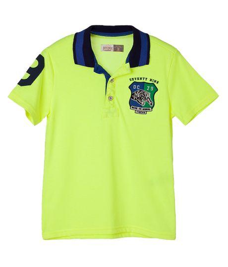 Camisetas-Ropa-nino-Amarillo