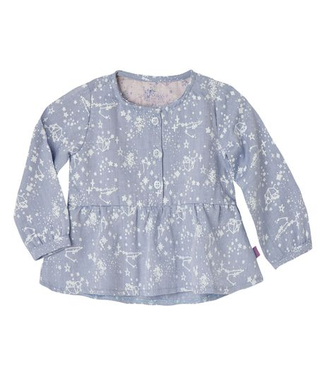 Camisas-Ropa-recien-nacido-nina-Azul
