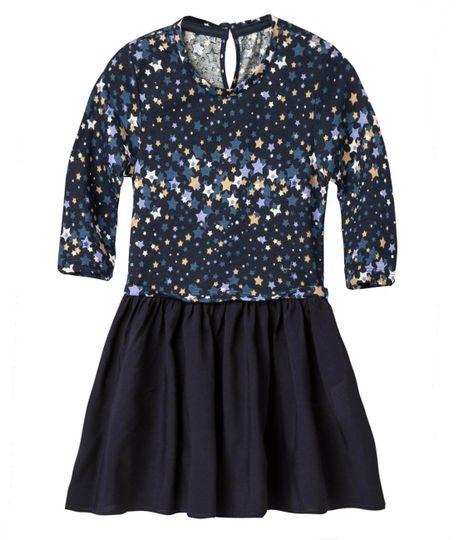 Vestidos-Ropa-bebe-nina-Azul