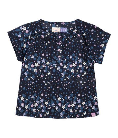 Camisas-Ropa-bebe-nina-Azul