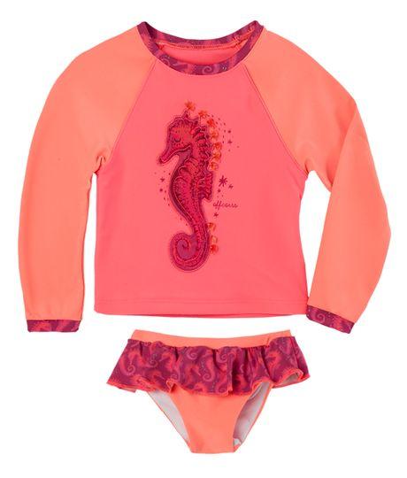 Vestidos-de-baño-Ropa-recien-nacido-nina-Rosado
