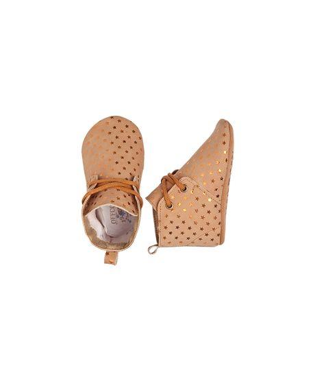Zapatos-Ropa-recien-nacido-nina-Cafe