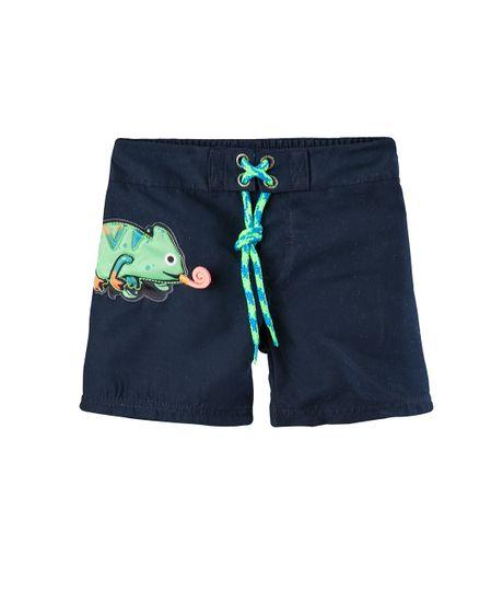 Pantalon-Corto-Ropa-recien-nacido-nino-Azul