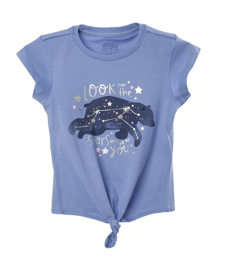 Camiseta-Ropa-bebe-nina-Azul