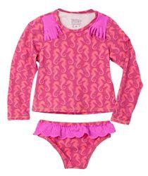 Vestido-De-Baño-Ropa-bebe-nina-Rojo