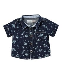 Camisas-Ropa-recien-nacido-nino-Indigo-medio
