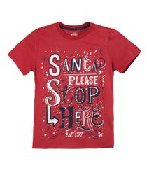 Camisetas-Ropa-nino-Rojo