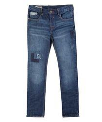 Jeans-y-Pantalones-Ropa-nino-Indigo-oscuro