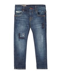 Jeans-y-Pantalones-Ropa-bebe-nino-Indigo-oscuro