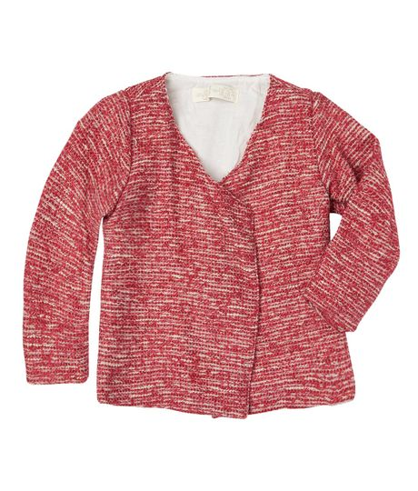 Buzos-y-chaquetas-Ropa-recien-nacido-nina-Rojo
