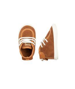 Zapatos-Ropa-recien-nacido-nino-Cafe