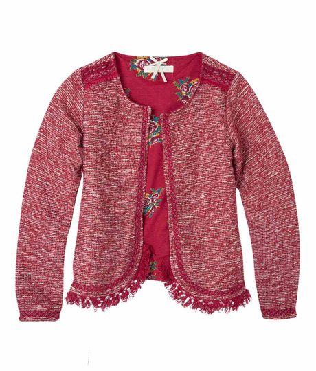 Buzos-y-chaquetas-Ropa-nina-Rojo