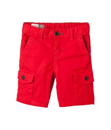 Bermudas-pantalonetas-Ropa-bebe-nino-Rojo