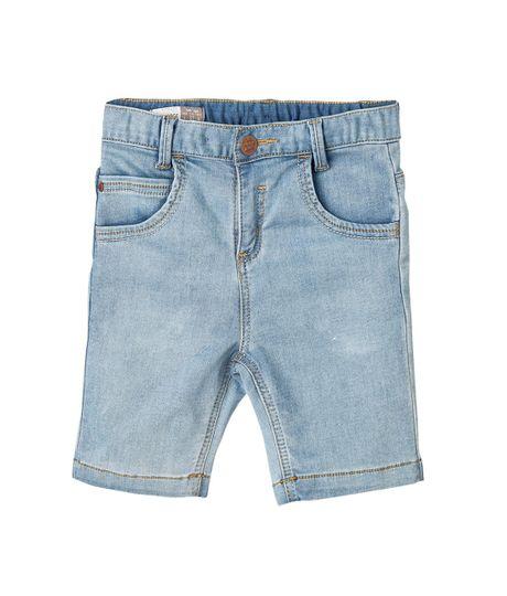 Bermudas-pantalonetas-Ropa-bebe-nino-Indigo-medio
