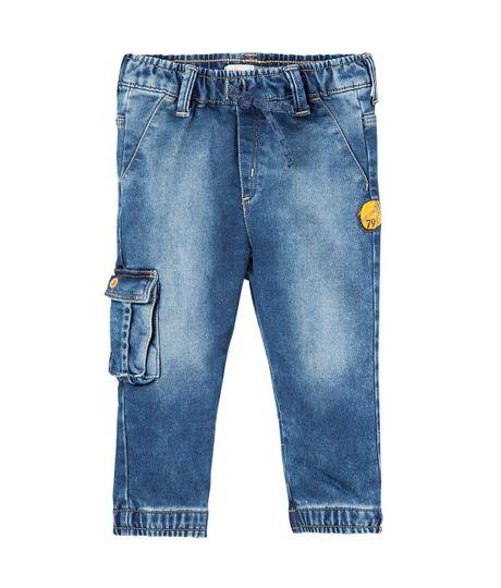 Jeans-y-Pantalones-Ropa-recien-nacido-nino-Azul