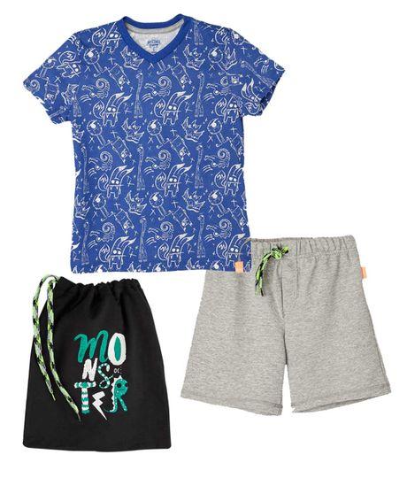 Pijamas-Ropa-nino-Azul