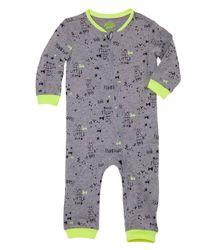 Pijamas-Ropa-recien-nacido-nino-Gris