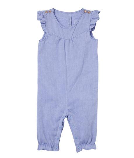 Body-y-One-piece-Ropa-recien-nacido-nina-Azul