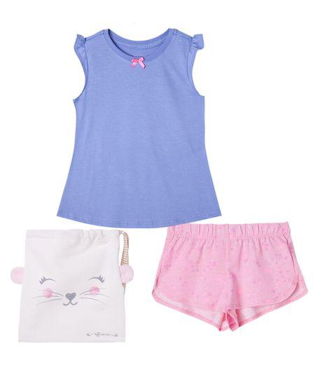 Pijamas-Ropa-bebe-nina-Morado