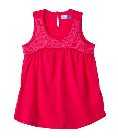 Camisetas-Ropa-nina-Rojo