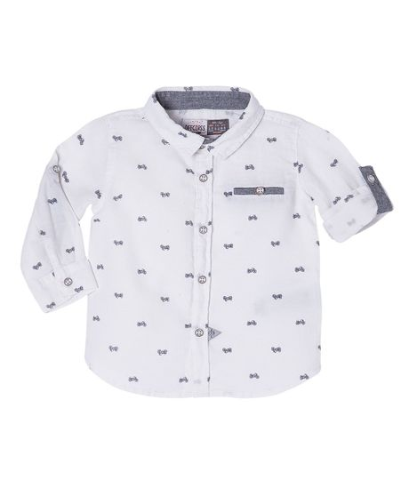 Camisas-Ropa-recien-nacido-nino-Gris