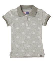 Camisetas-Ropa-bebe-nina-Gris