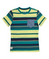 Camisetas-Ropa-nino-Turquesa