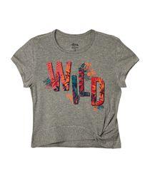 Camisetas-Ropa-nina-Gris-Jaspe