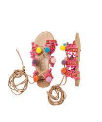 Zapatos-Ropa-nina-Rojo