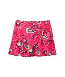Faldas-y-shorts-Ropa-nina-Rojo