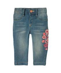 Jeans-y-Pantalones-Ropa-recien-nacido-nina-Indigo-Claro