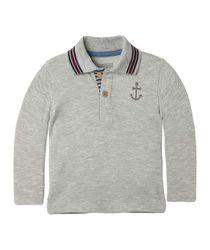 Camisetas-Ropa-recien-nacido-nino-Gris-Jaspe