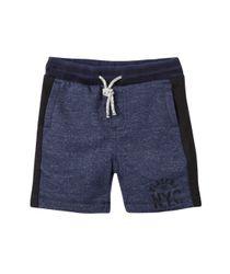 Bermudas-pantalonetas-Ropa-bebe-nino-Azul